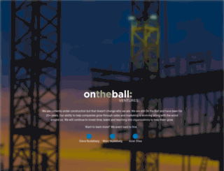 ontheballmarketing.com screenshot