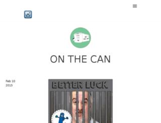 onthecan.com screenshot