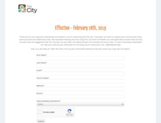 onthecity.org screenshot
