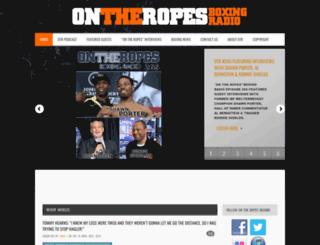 ontheropesboxing.com screenshot
