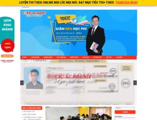 onthitoeic.vn screenshot