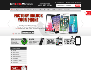 ontimemobile.com screenshot
