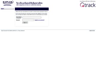 ontrack.mykaplan.edu.au screenshot