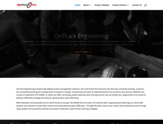 ontrackengineering.com screenshot