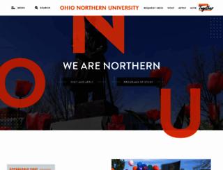 onu.edu screenshot
