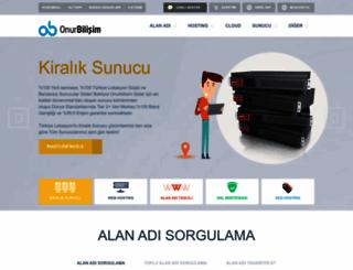 onurbilisim.com.tr screenshot