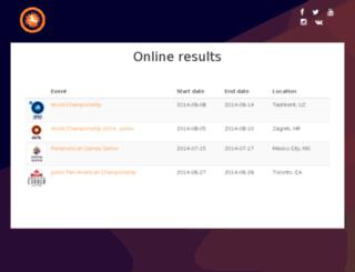 onvenue-arena.fila-wrestling.com screenshot