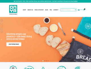 onyabags.com.au screenshot