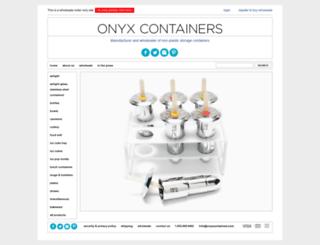 onyxcontainers.com screenshot
