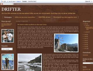 onzedrifter.blogspot.com screenshot