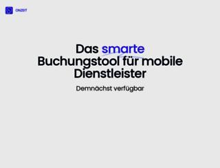 onzeit.de screenshot