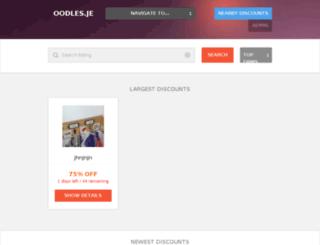 oodles.je screenshot