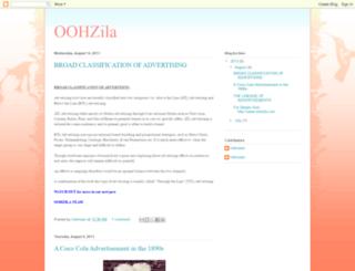 oohzila.blogspot.com screenshot