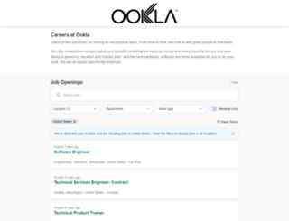 ookla.workable.com screenshot