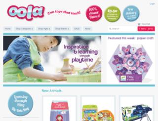 oola.myshopify.com screenshot