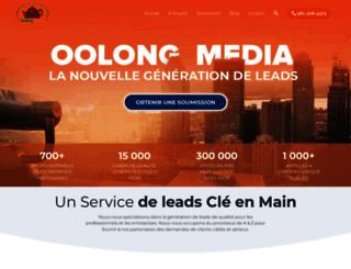 oolongmedia.com screenshot