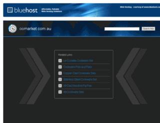 oomarket.com.au screenshot