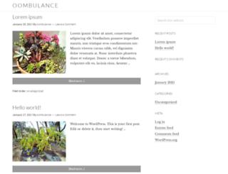 oombulance.com screenshot
