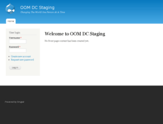 oomdcstaging.com screenshot