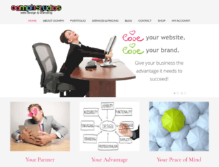 oomphwebdesign.ca screenshot