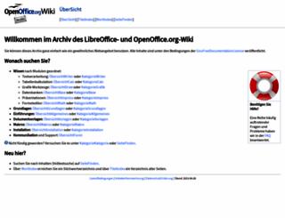 ooowiki.de screenshot