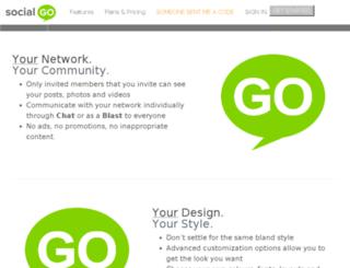 oopzee.socialgo.com screenshot