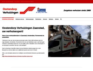 oostendorpverhuizingen.nl screenshot
