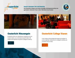 oosterlicht.nl screenshot