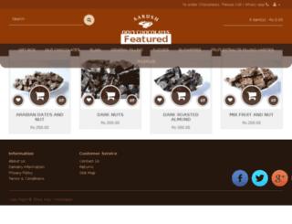 ootychocolates.com screenshot