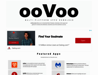 oovoo.com screenshot