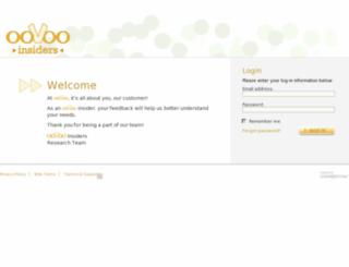 oovooinsiders.com screenshot