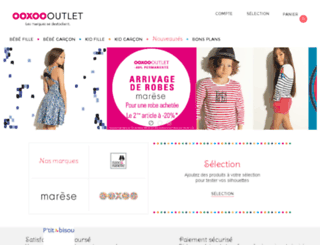 ooxoo-outlet.com screenshot