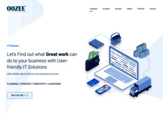 oozeetech.com screenshot