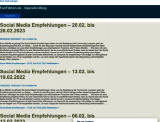 op.fanfiktion.de screenshot