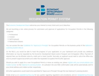 op.investmauritius.com screenshot