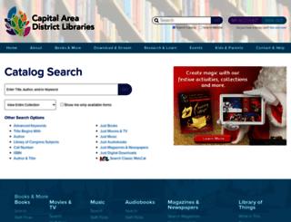 opac.cadl.org screenshot