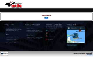 opac.nalis.gov.tt screenshot