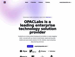 opaclabs.com screenshot