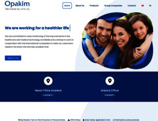 opakim.com.tr screenshot