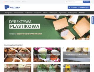 opakowania-radpak.pl screenshot