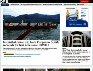 opb.org screenshot