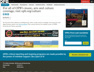 opbmusic.org screenshot
