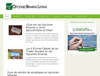 opcionesbinariaslatinas.com screenshot