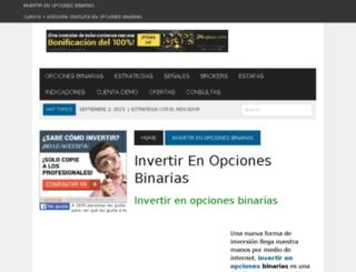 opcionesbinariastrading.com screenshot