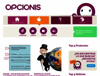 opcionis.com.mx screenshot