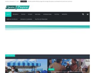 opcionprogreso.com screenshot