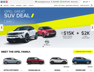 opel.com.sg screenshot
