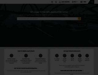 opel.navigation.com screenshot