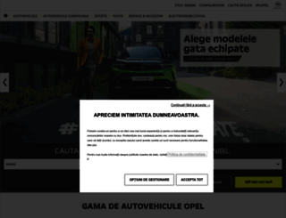 opel.ro screenshot