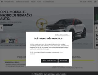opel.rs screenshot